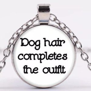 Necklace- NEW- Dog Hair Completes the Outfit